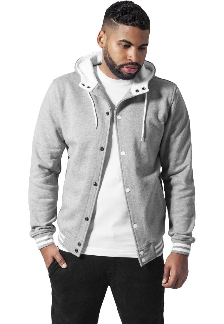 Hooded College Sweatjacket