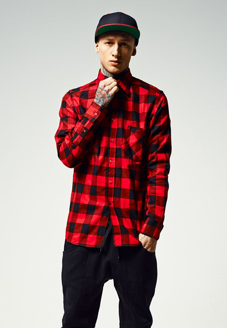Checked Flanell Shirt - KAULUSPAIDAT - TTUTB297 - 1