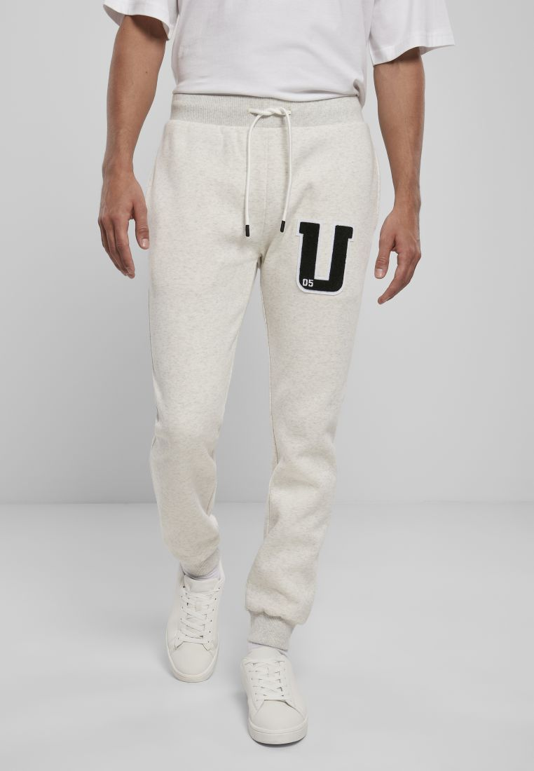 Frottee Patch Sweatpants