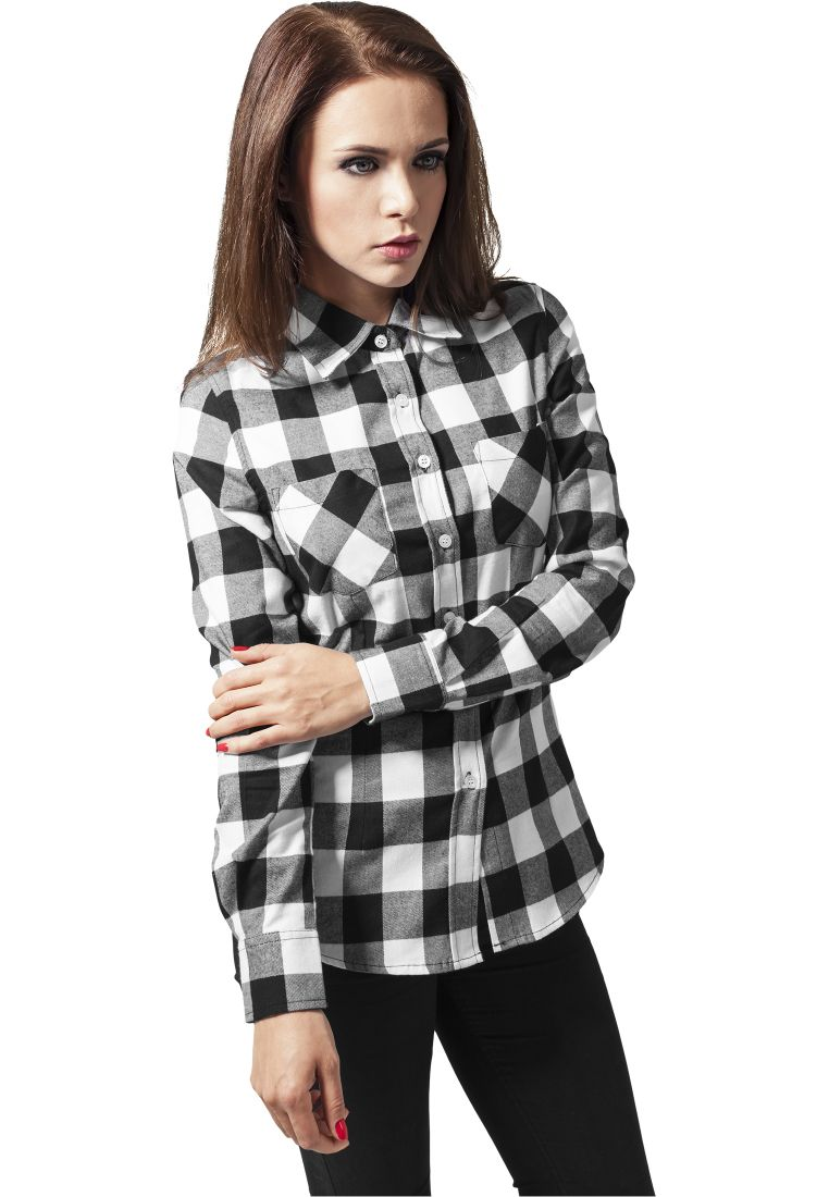 Ladies Checked Flanell Shirt