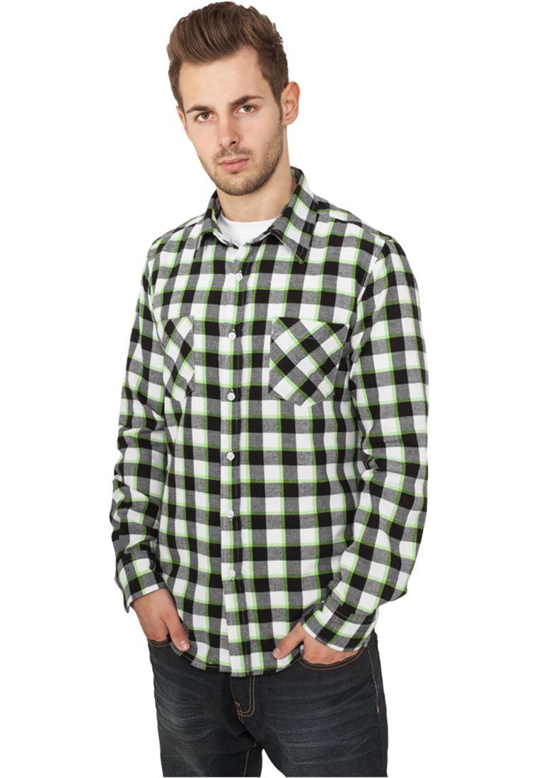 Tricolor Checked Light Flanell Shirt - KAULUSPAIDAT - TTUTB411 - 1