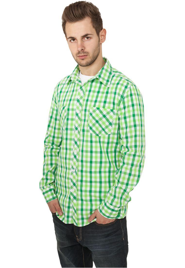Tricolor Big Checked Shirt - KAULUSPAIDAT - TTUTB414 - 1