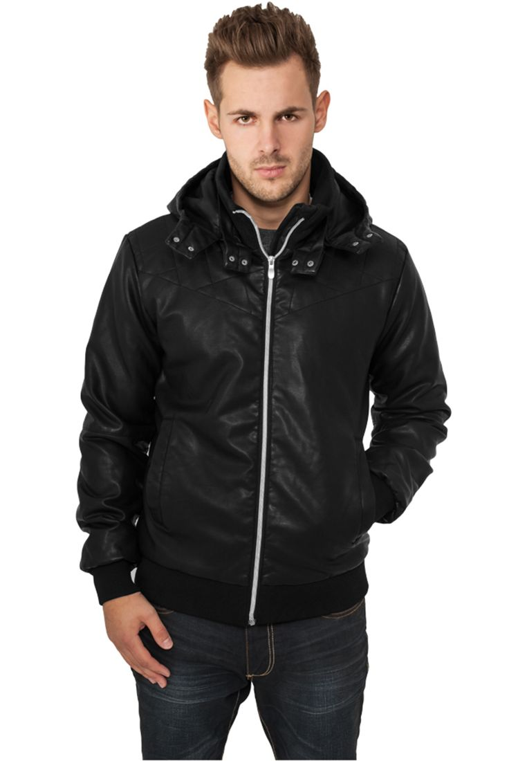 Leather Imitation Jacket - TAKIT - TTUTB436 - 1