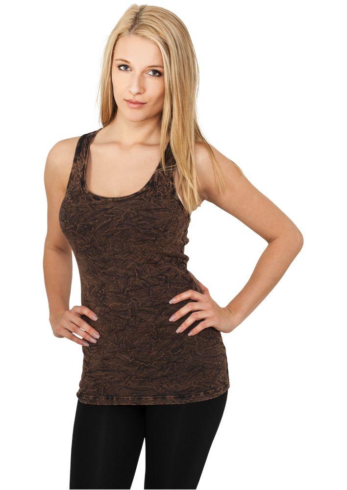 Ladies Crinkle Camo Tanktop - T-PAIDAT - TTUTB454 - 1