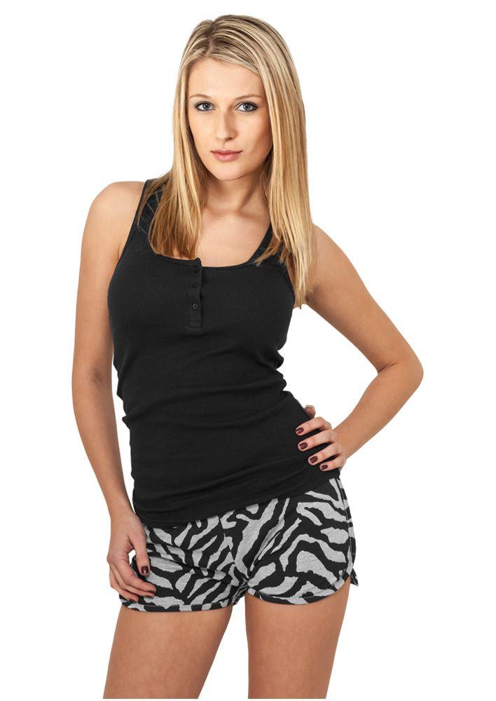 Ladies Zebra Hotpants