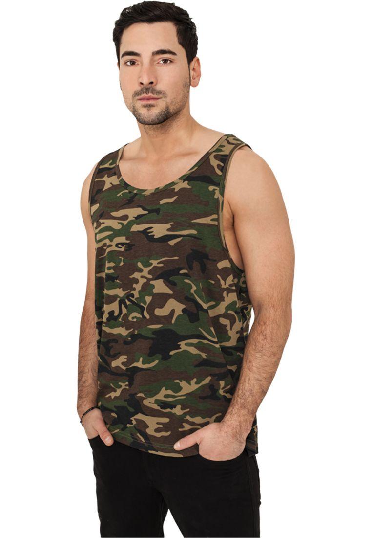 Camo Big Tank Jersey