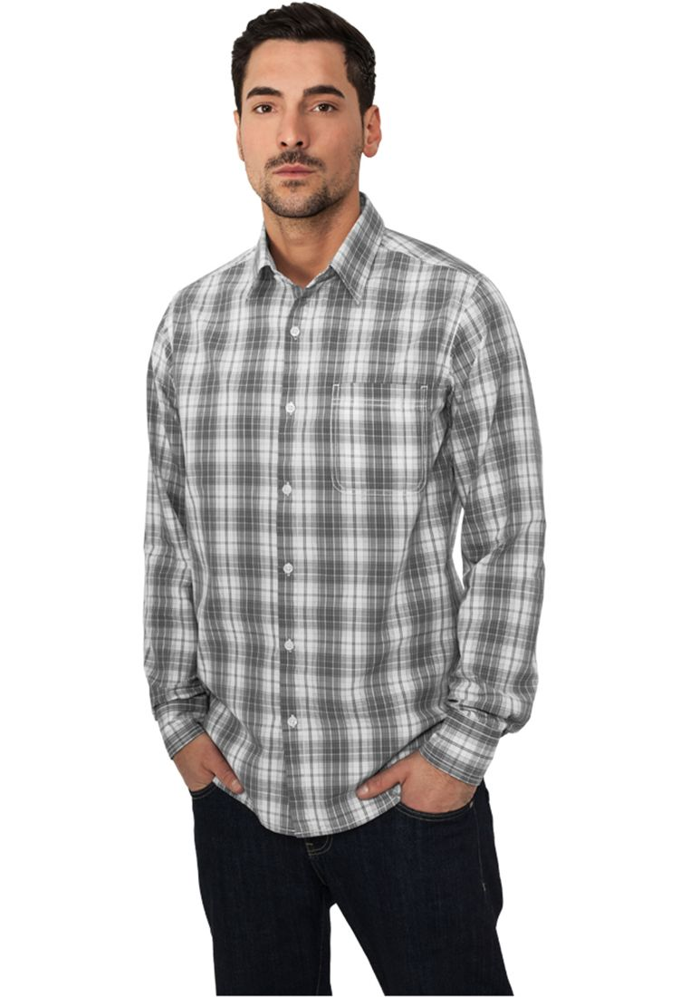 Checked Garment Dye Shirt - KAULUSPAIDAT - TTUTB512 - 1