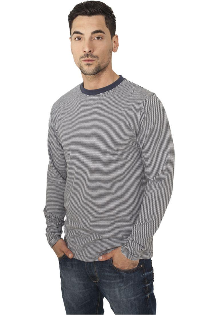 Striped Longsleeve T-Shirt - T-PAIDAT - TTUTB529 - 1