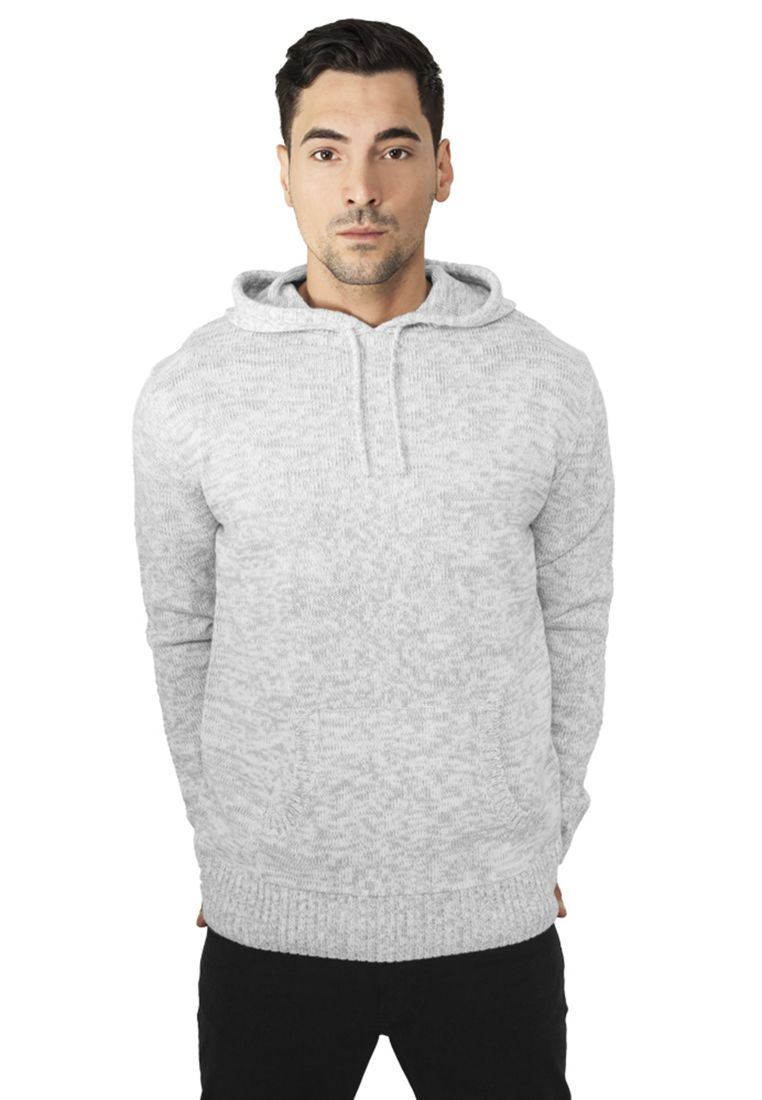 Melange Knitted Hoody - HUPPARIT - TTUTB553 - 1