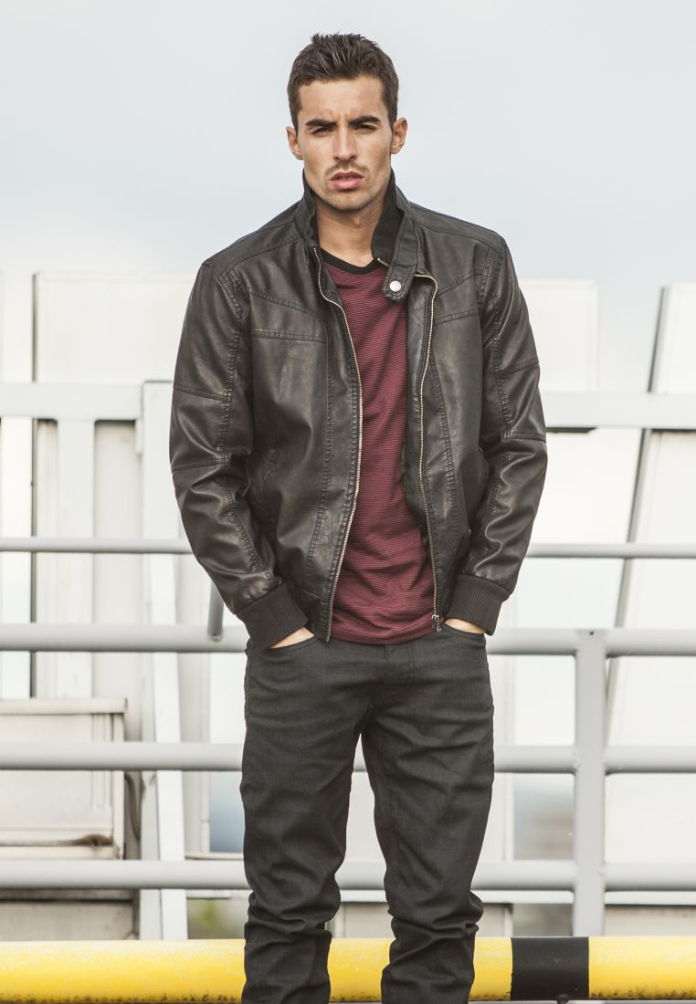 Leather Imitation Jacket
