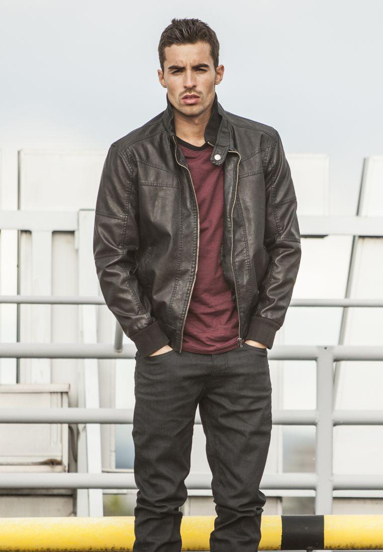 Leather Imitation Jacket - TAKIT - TTUTB564 - 1