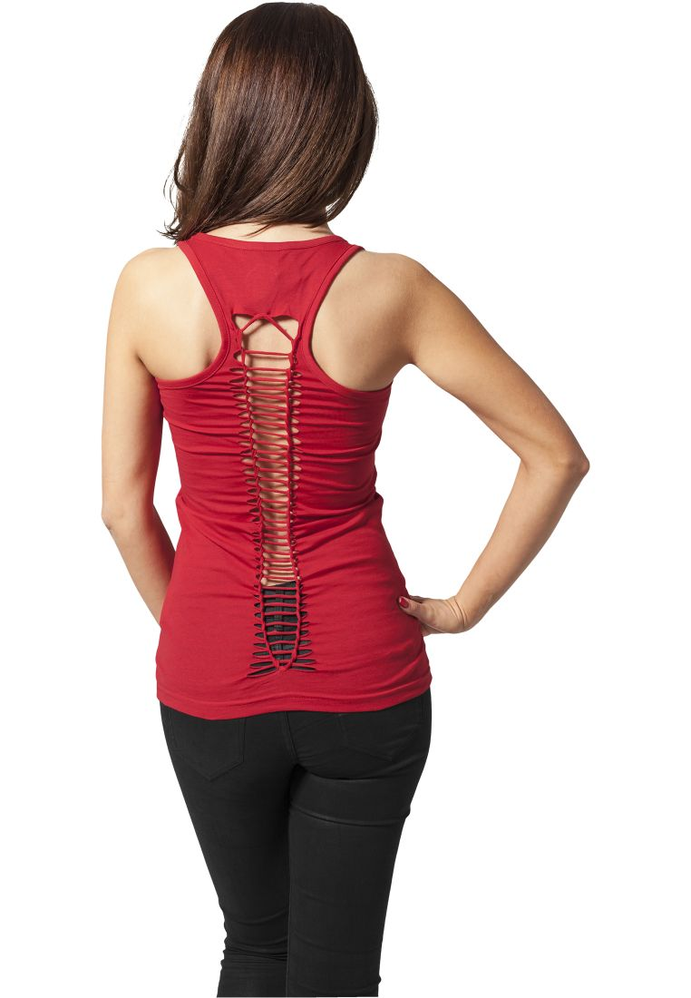 Ladies Cutted Back Tanktop