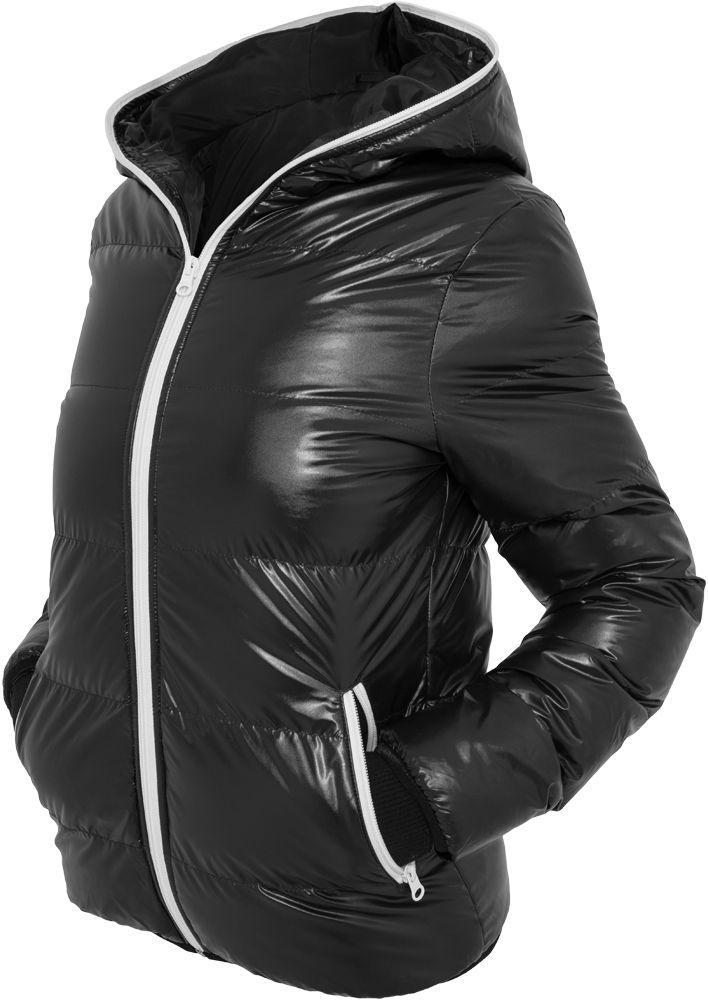 Ladies Shiny Bubble Jacket
