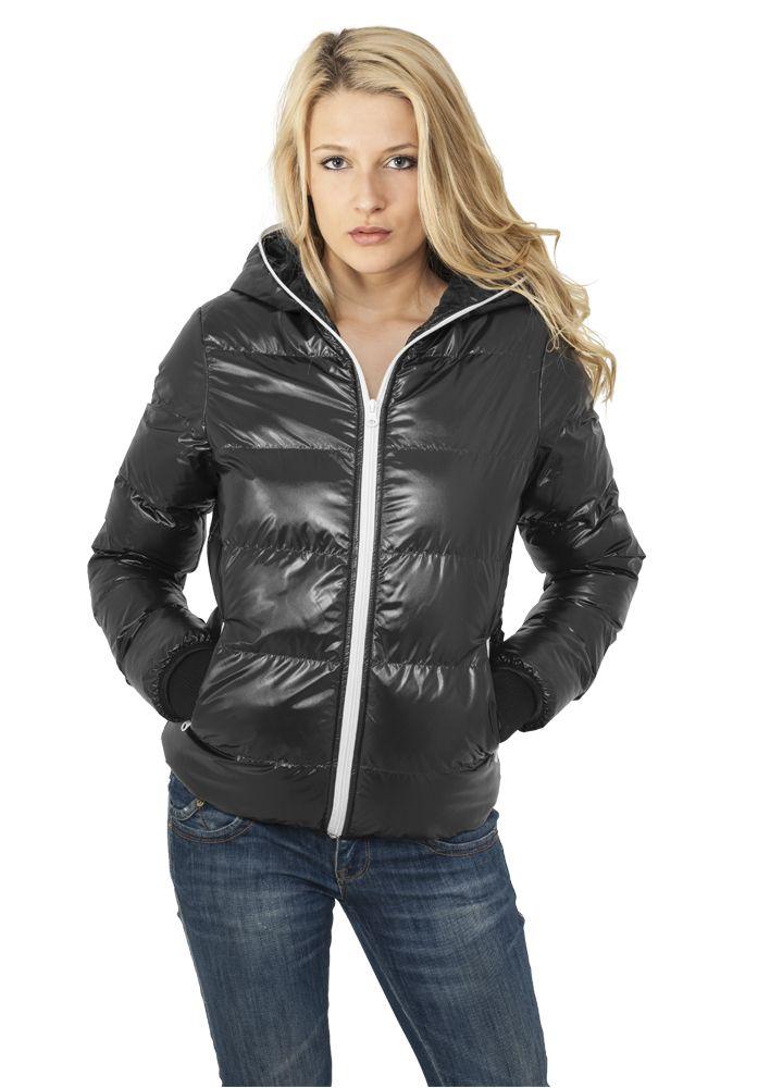 Ladies Shiny Bubble Jacket - TALVITAKIT - TTUTB618 - 1