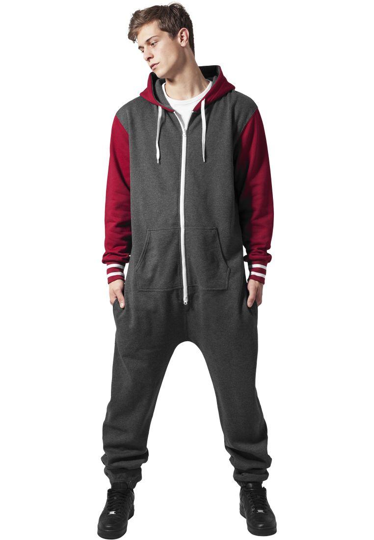 College Sweat Jumpsuit - ASUT - TTUTB629 - 1