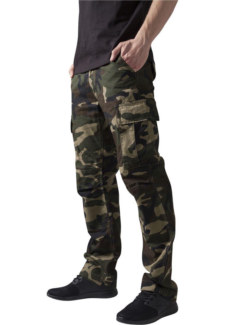 Camouflage Cargo Pants - HOUSUT - TTUTB630 - 1