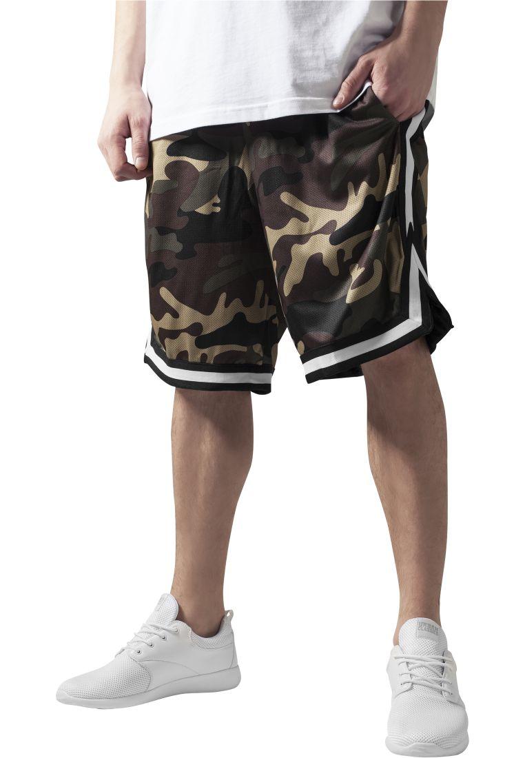 Camo Stripes Mesh Shorts - SHORTSIT - TTUTB649 - 1