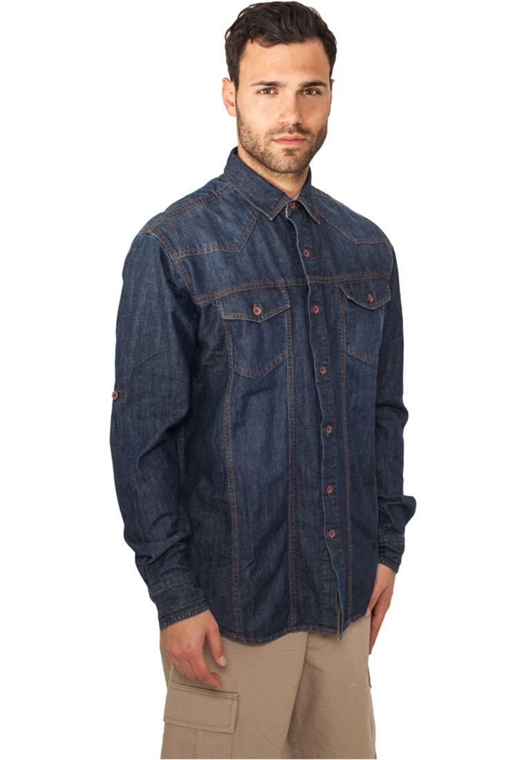 Heavy Denim Shirt - KAULUSPAIDAT - TTUTB656 - 1