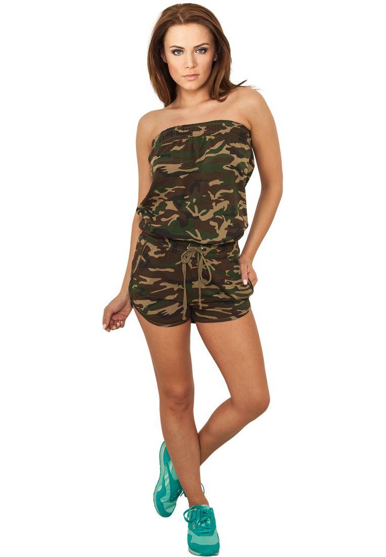 Ladies Camo Hot Jumpsuit
