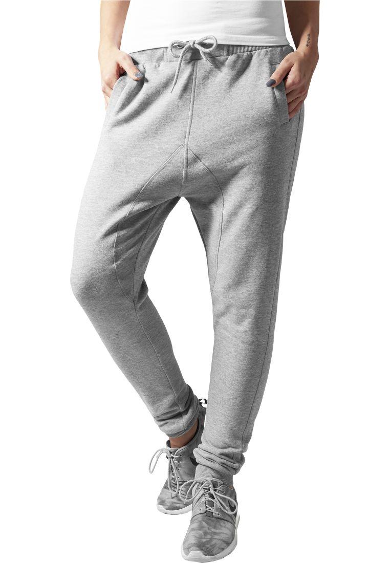 Ladies Deep Crotch Sweatpant - COLLEGE HOUSUT - TTUTB748 - 1