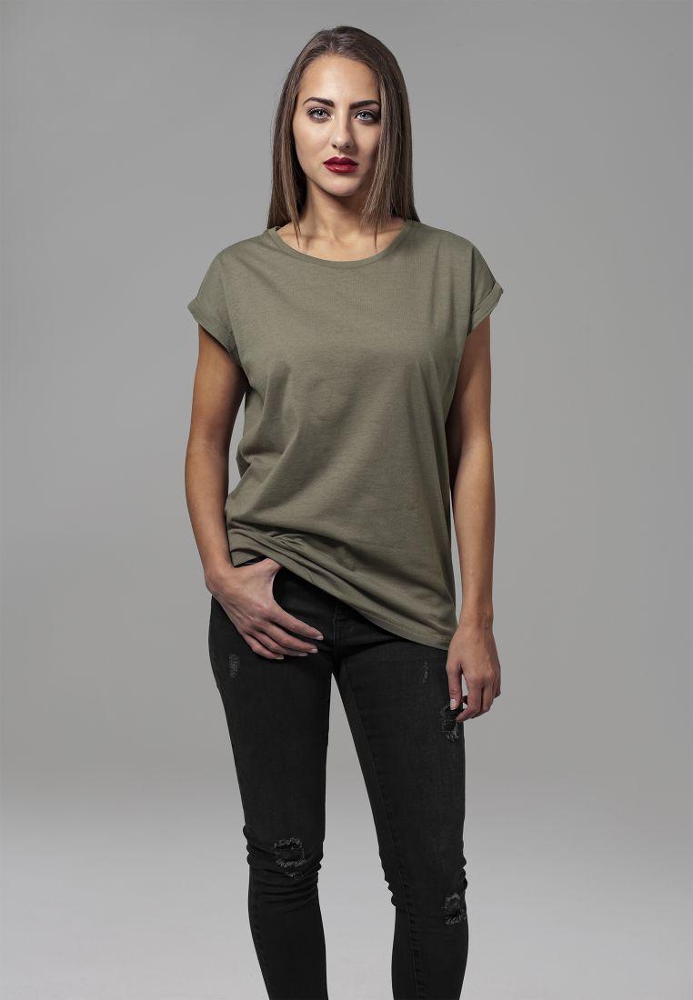 Ladies Extended Shoulder Tee - T-PAIDAT - TTUTB771 - 1