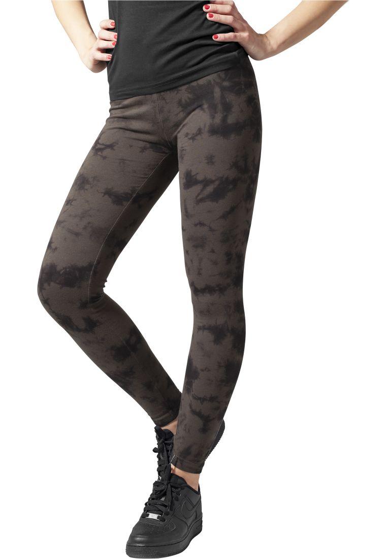 Ladies Acid Wash Splash Leggings - LEGGINSSIT - TTUTB779 - 1