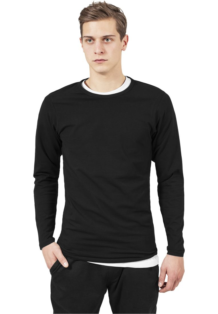 Fitted Stretch L/S Tee