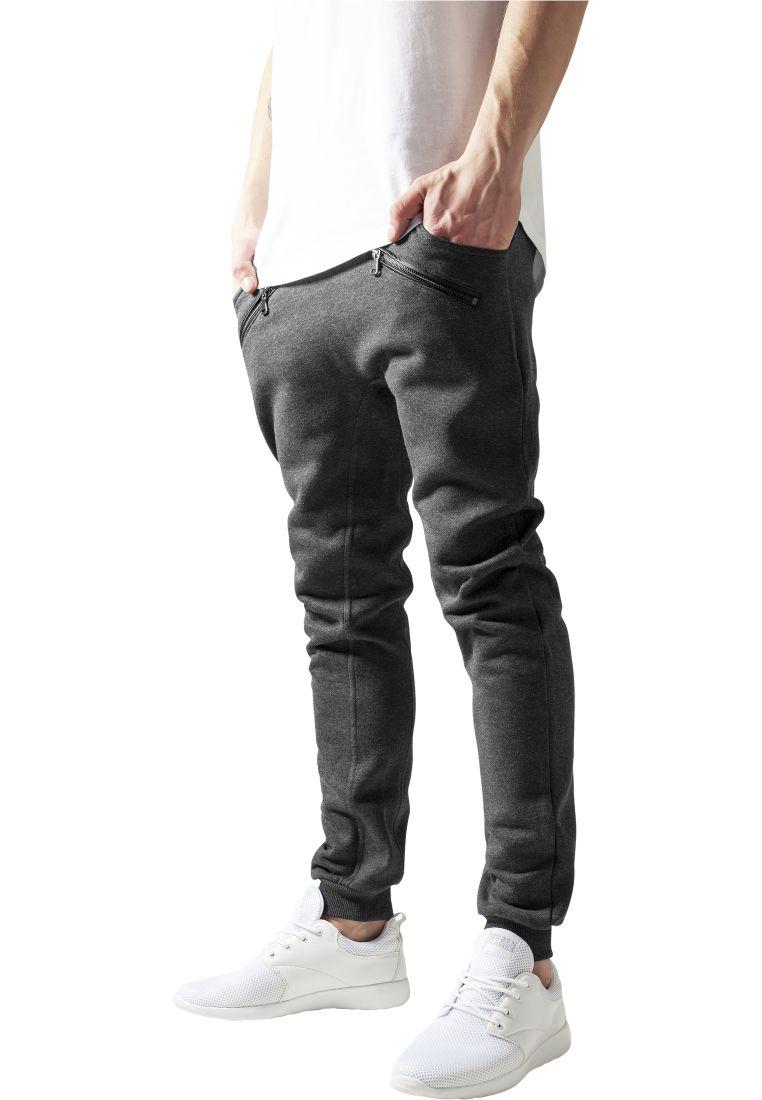 Zip Deep Crotch Sweatpants - COLLEGE HOUSUT - TTUTB850 - 1
