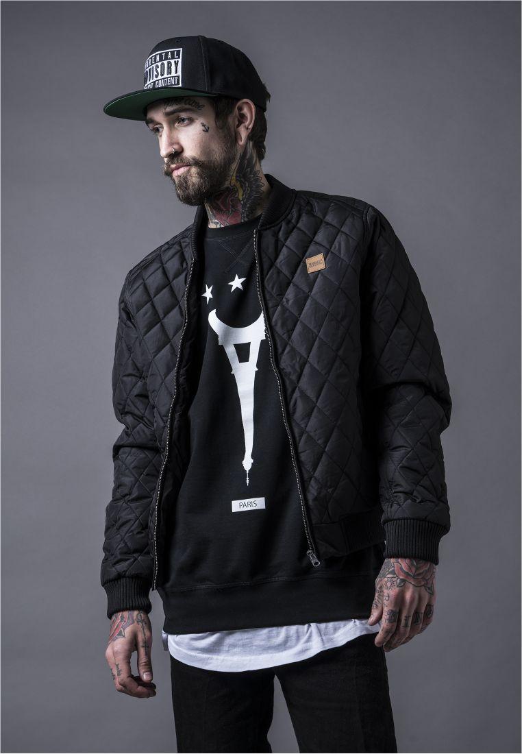 Diamond Quilt Nylon Jacket - TAKIT - TTUTB862 - 1