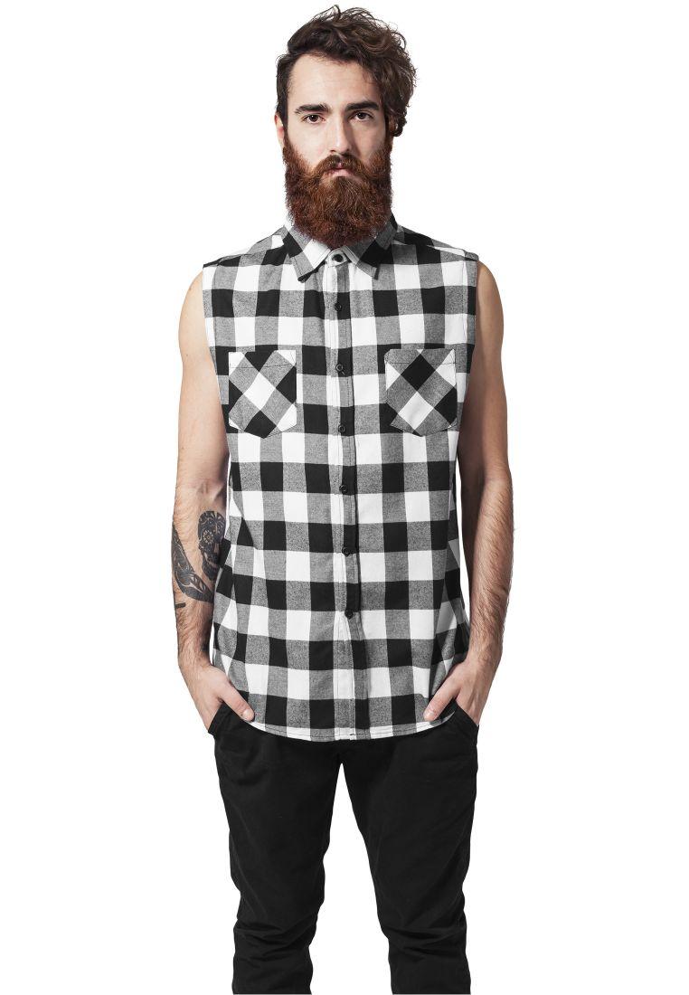 Sleeveless Checked Flanell Shirt - KAULUSPAIDAT - TTUTB999 - 1