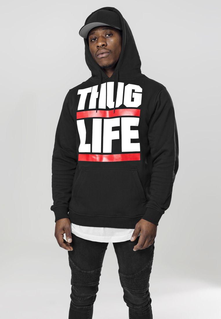 Thug Life Block Logo Hoody - HUPPARIT - TTUTL002 - 1