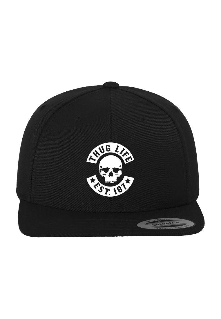 Thug Life Skull Snapback - LIPPIKSET, HATUT JA PIPOT - TTUTL013 - 1