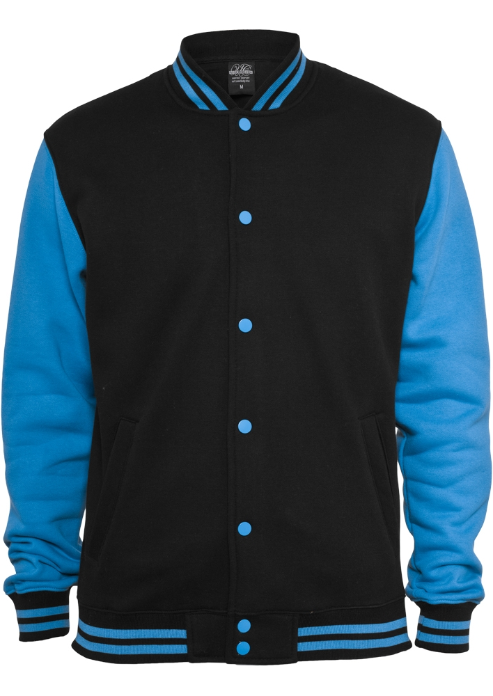 Kids 2-tone College Sweatjacket - TILAUSTUOTTEET - TTUUK021 - 1
