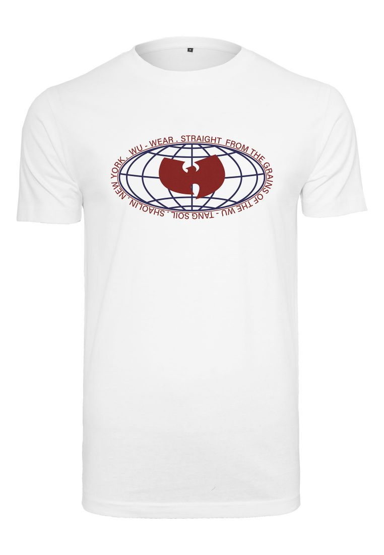 Wu-Wear Globe Logo Tee - WU-WEAR - TTUWU032 - 1