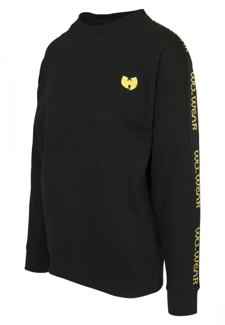 Wu-Wear Tape Chest Embroidery Crewneck