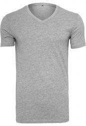 Light T-Shirt V-Neck heather grey       S