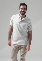 Polo Piqué Shirt heather grey       S