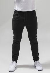 Heavy Deep Crotch Sweatpants black XL