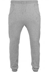 Heavy Deep Crotch Sweatpants heather grey       XXL