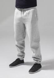 Heavy Sweatpants heather grey       L