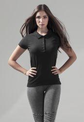 Ladies Polo black XS
