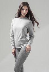 Ladies Light Crewneck grey XL