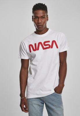 NASA Worm Tee white 3XL